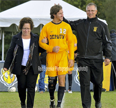 Senior Day Family Walkout